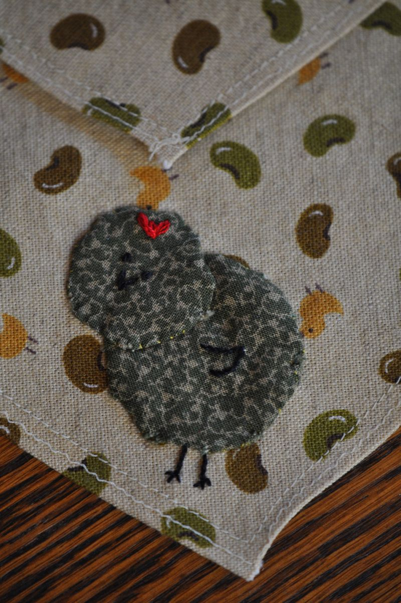 Applique chick 1