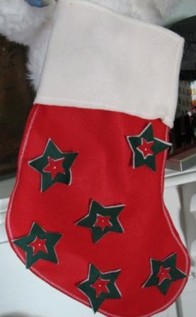 Christmas Stocking Stars entire