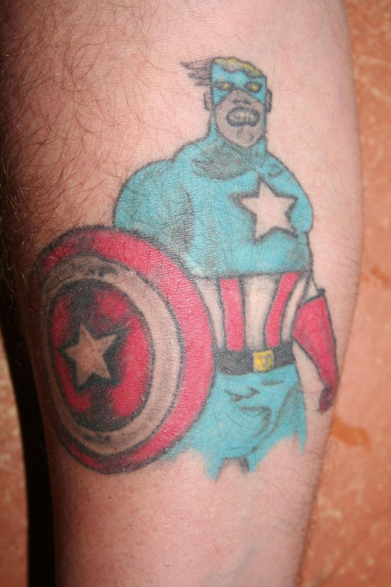 Zombie Cap Tattoo